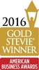2016 Gold Stevie Winner - For Sales & Customer Service