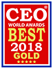 2018 CEO World Awards - Best 2018 Gold