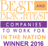 National Best and Brightest Companies to Work for Award 2016
