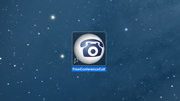 FreeConferenceCall.com desktop app icon