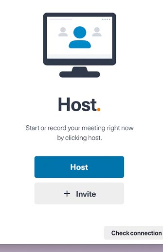Send invites before a meeting