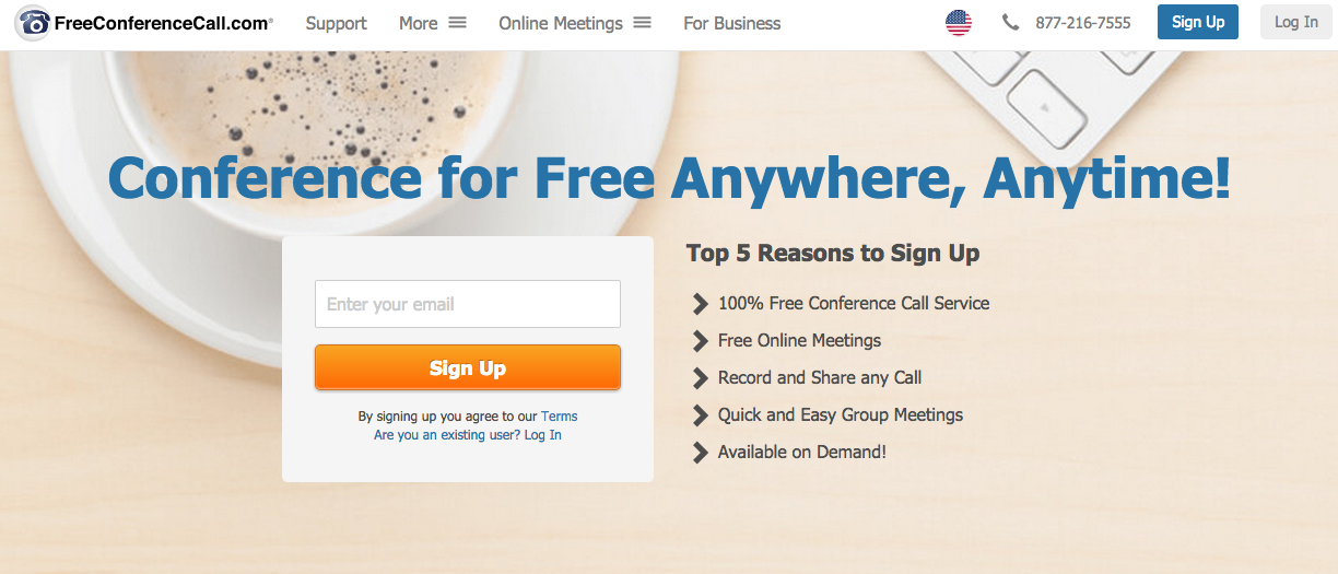 Take a Tour - Getting Started with Free Conference Calls